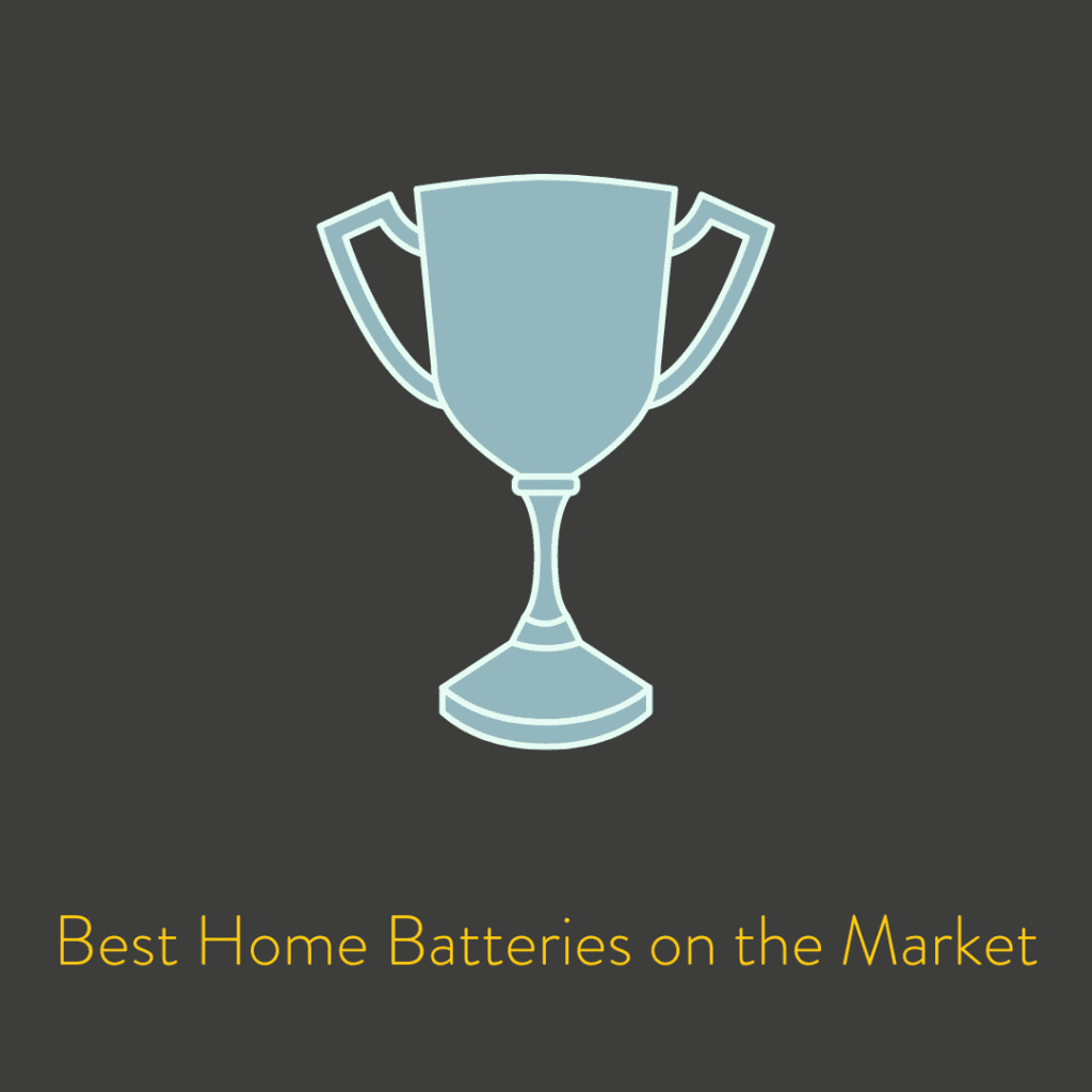 Best Home Batteries on the Market