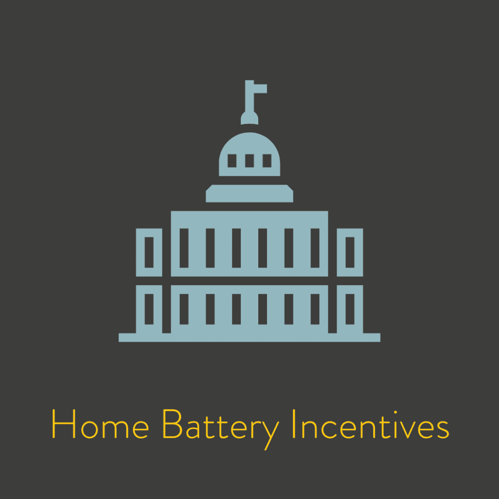Home Battery Incentives